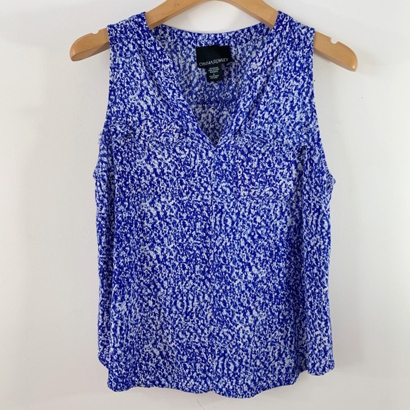 Cynthia Rowley Tops - Cynthia Rowley . Sleeveless V-Neck Blouse . L